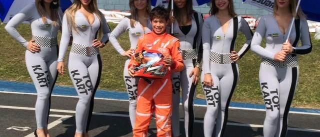 Manuel Jr. na final do Top Kart Brasil